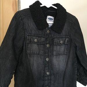 3T Black Denim Jacket